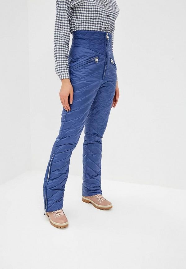 женские брюки miss naumi, синие