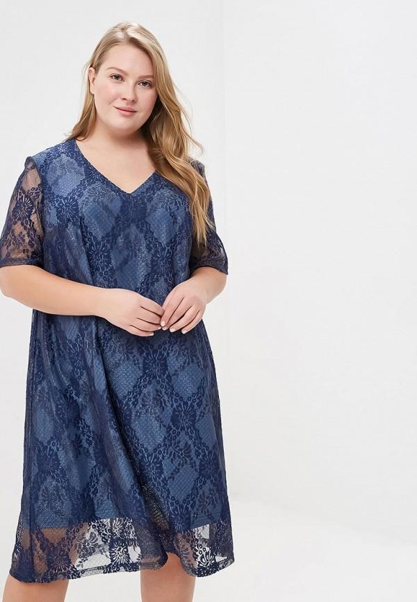 женское вечерние платье jp, синее