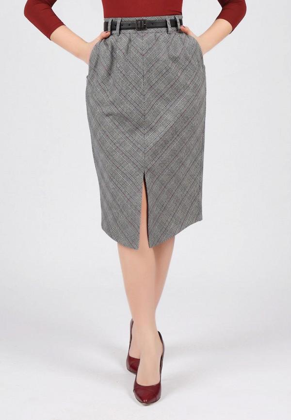 женская юбка grey cat, серая