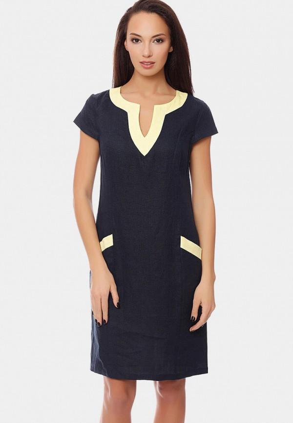 женское платье gabriela, синее