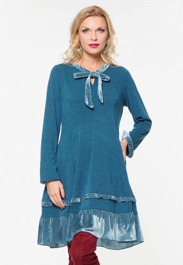 женское повседневные платье kata binska, бирюзовое
