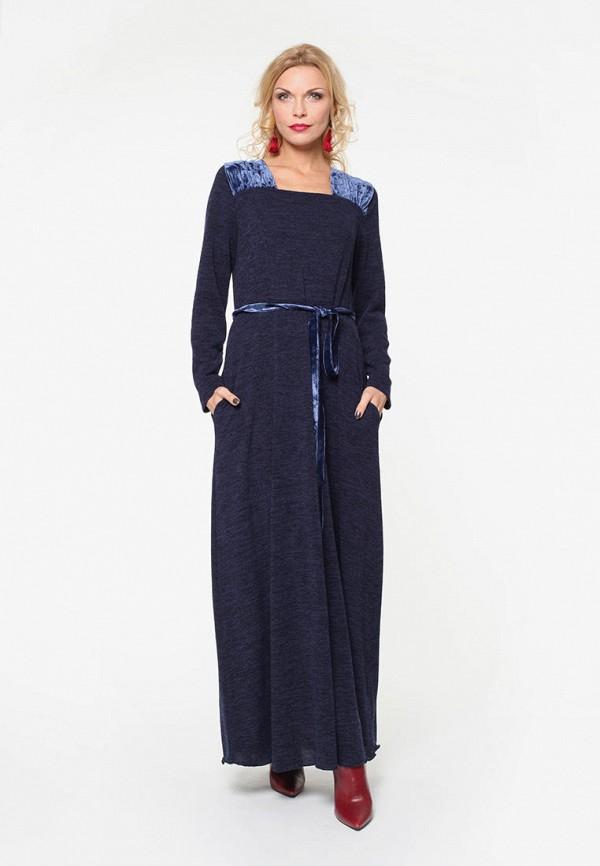 женское платье kata binska, синее