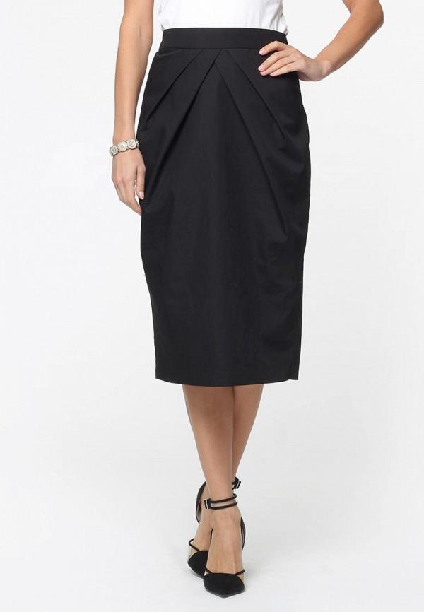 женская прямые юбка kata binska, черная