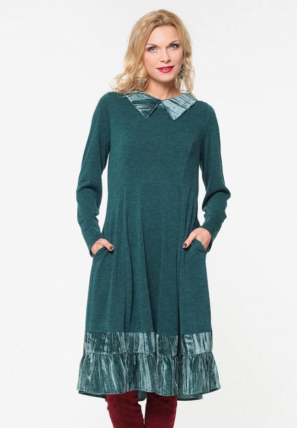 женское повседневные платье kata binska, зеленое