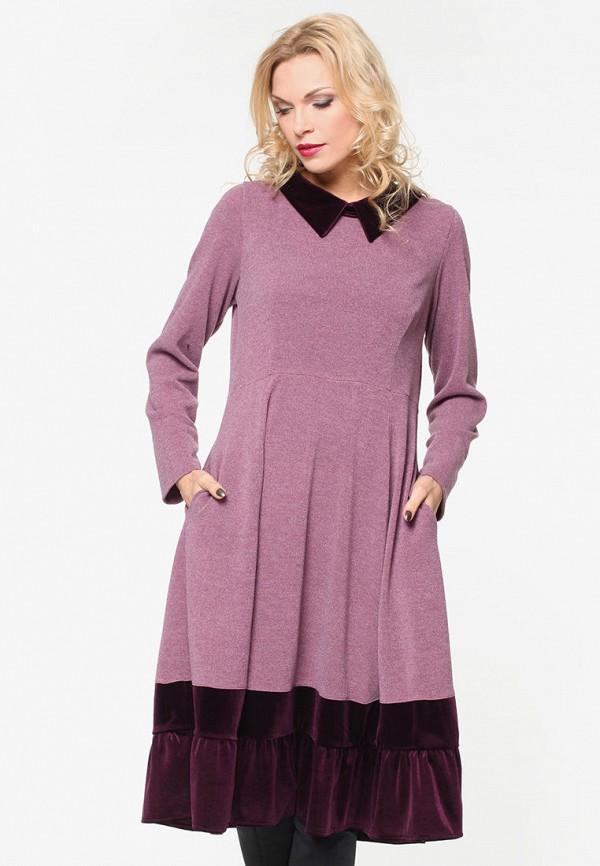 женское повседневные платье kata binska, розовое