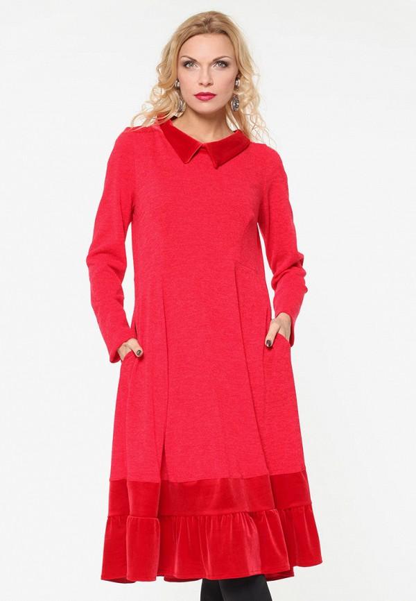 женское повседневные платье kata binska, красное
