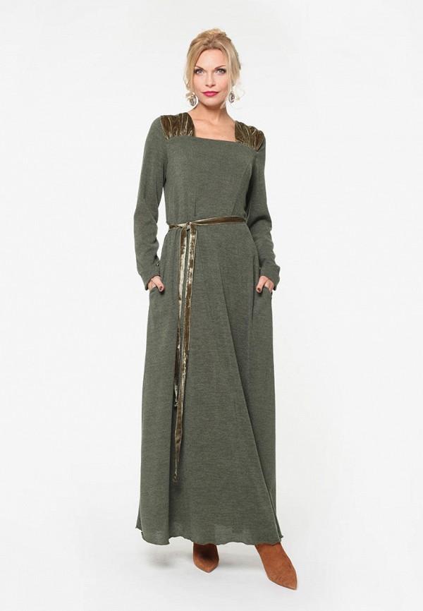 женское платье kata binska, хаки