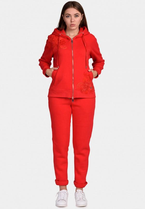 женский спортивные спортивный костюм o&j, красный