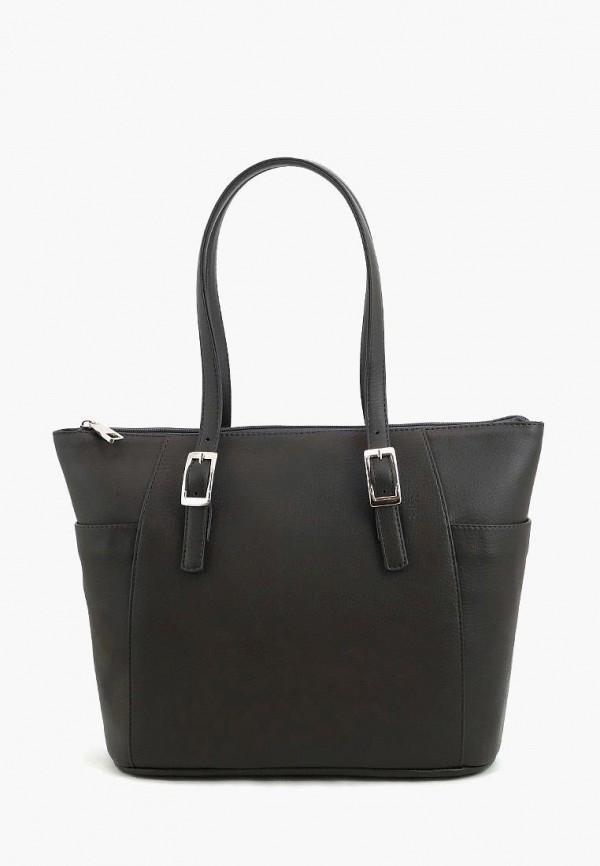 женская сумка solo, коричневая