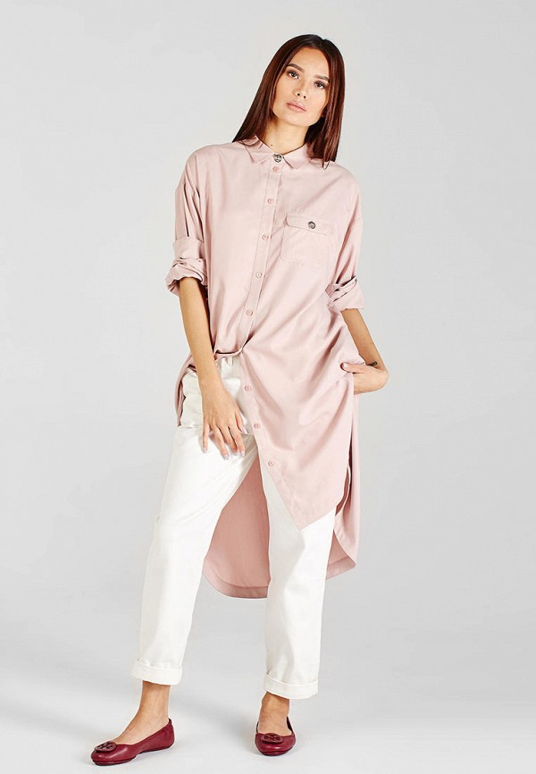 женская туника sana.moda, розовая