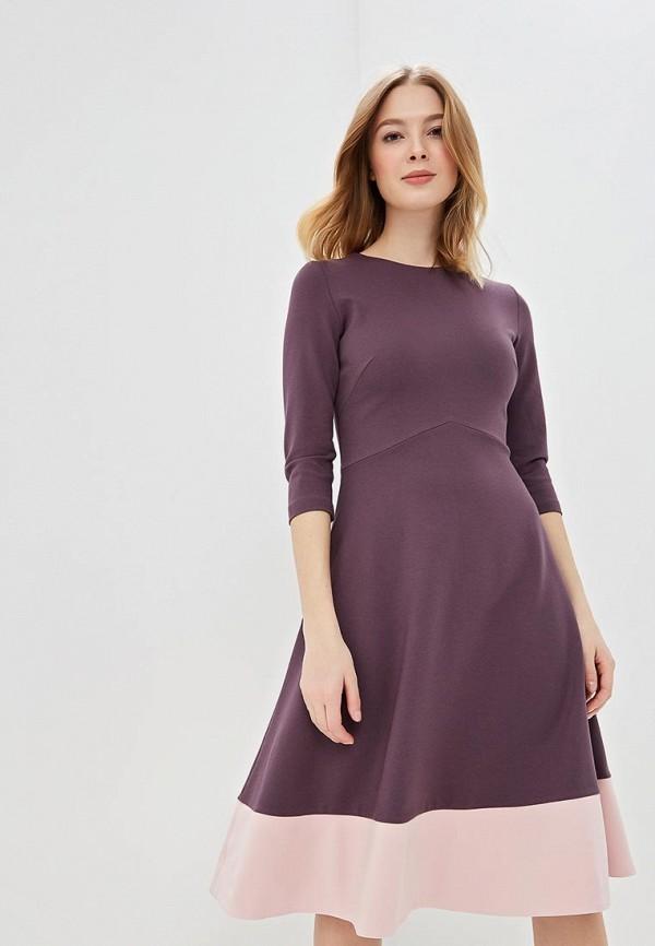 Купить Платье Olga Skazkina, 180204, mp002xw1i1be, фиолетовый, Осень-зима 2018/2019