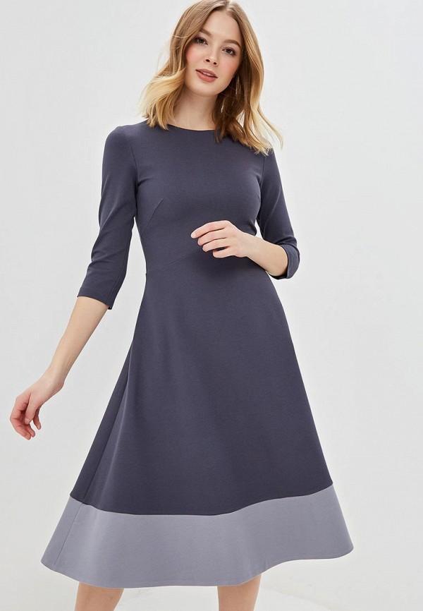 женское повседневные платье olga skazkina, серое