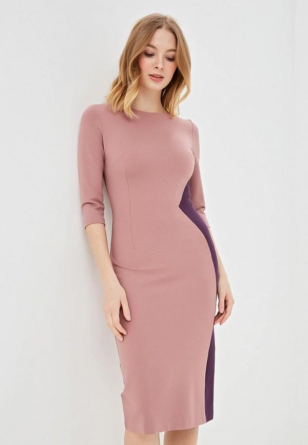 женское повседневные платье olga skazkina, розовое