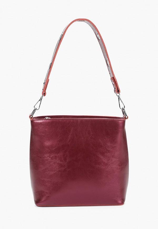женская сумка bolso, бордовая