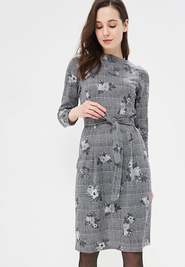 Купить Платье Mari Vera, mp002xw1i1gx, серый, Осень-зима 2018/2019