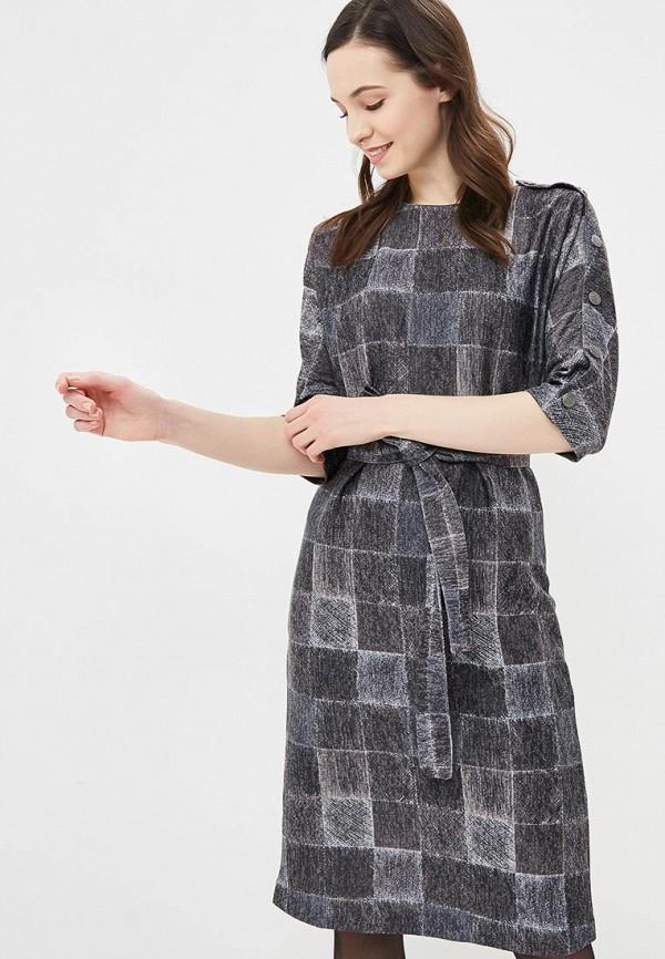 Купить Платье Mari Vera, mp002xw1i1h7, серый, Осень-зима 2018/2019