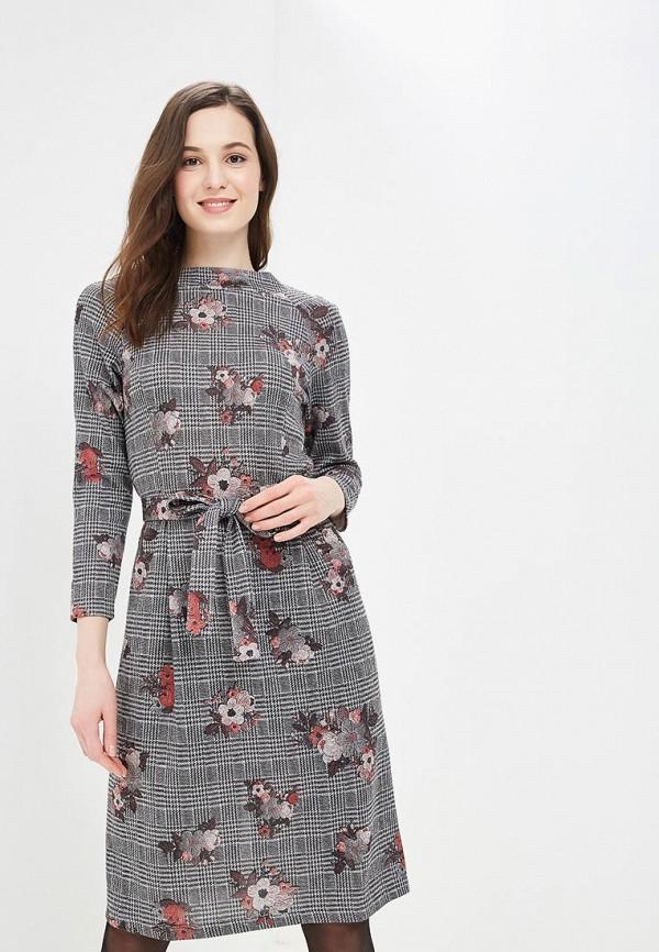 Купить Платье Mari Vera, mp002xw1i1ie, серый, Осень-зима 2018/2019