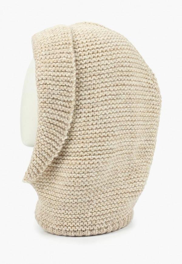женский снуд forti knitwear, бежевый