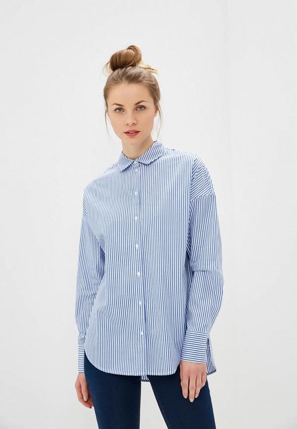 женская блузка befree, синяя