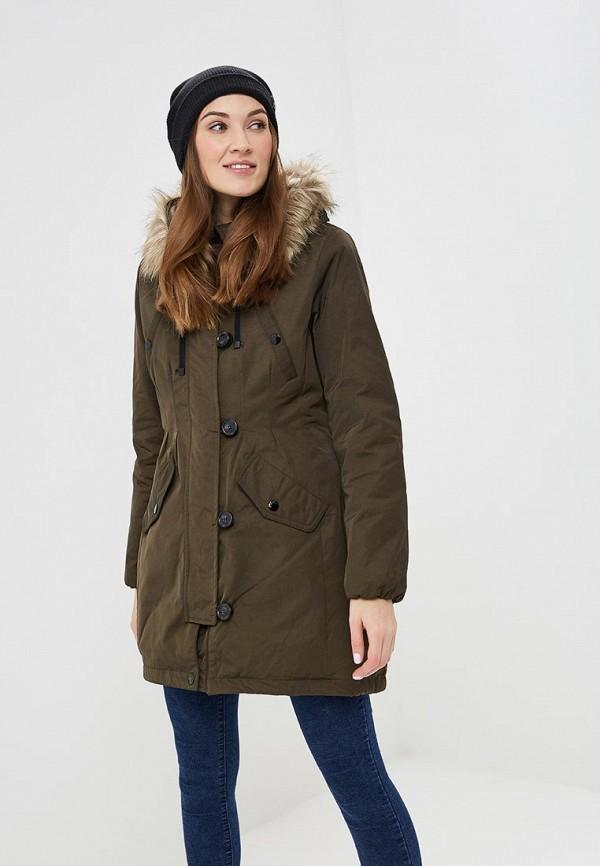 женское пальто colin's, хаки