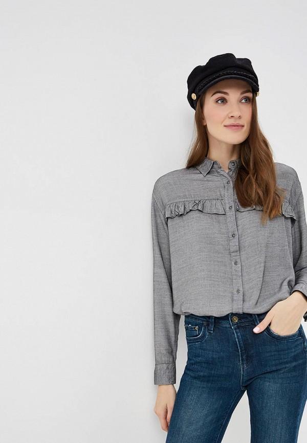 женская блузка colin's, серая