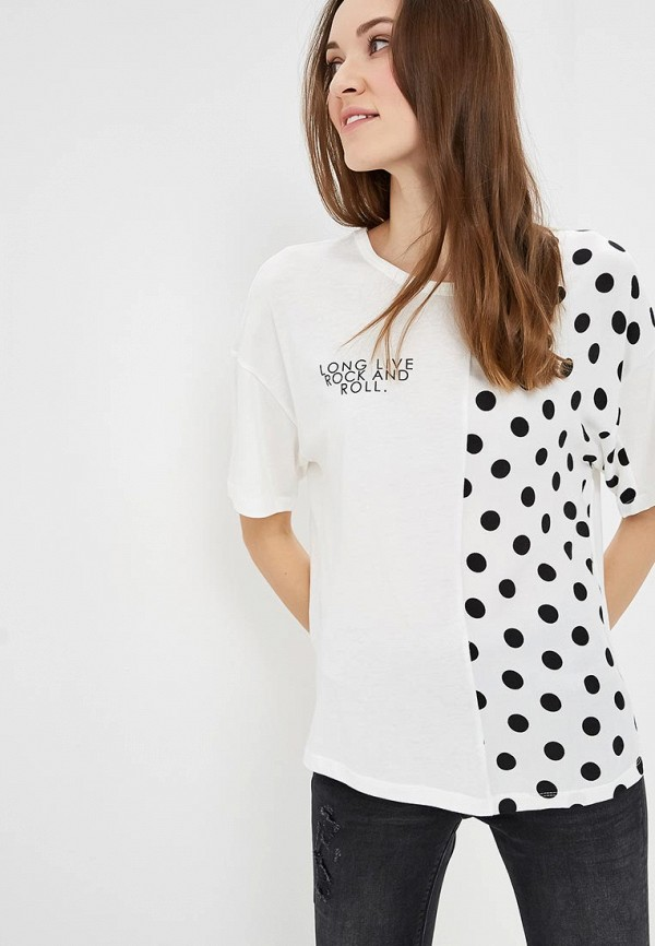 женская футболка colin's, белая