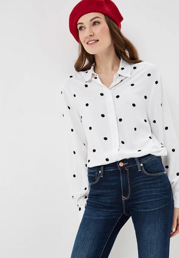 женская блузка с длинным рукавом colin's, белая