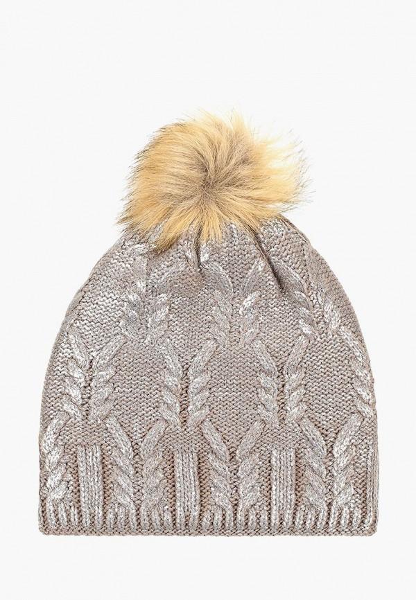 женская шапка colin's, серебряная