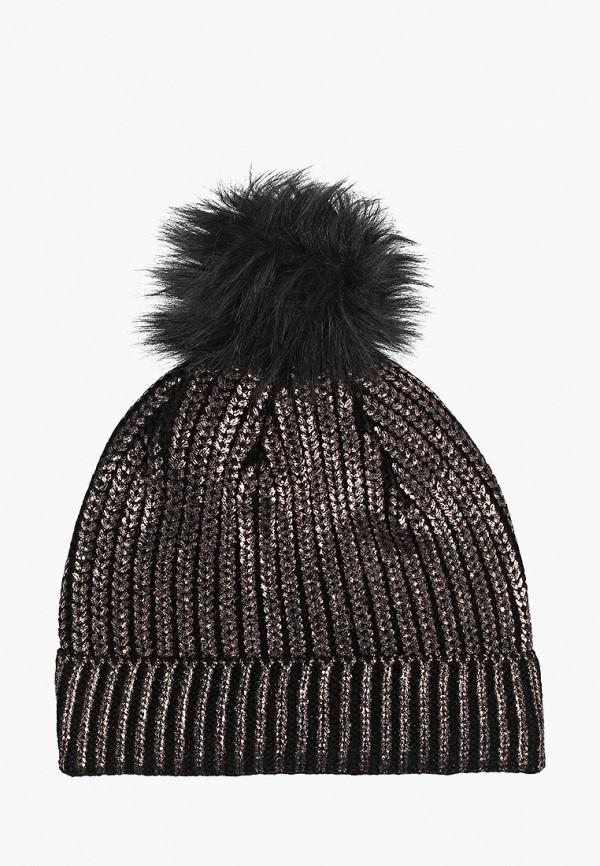 женская шапка colin's, коричневая