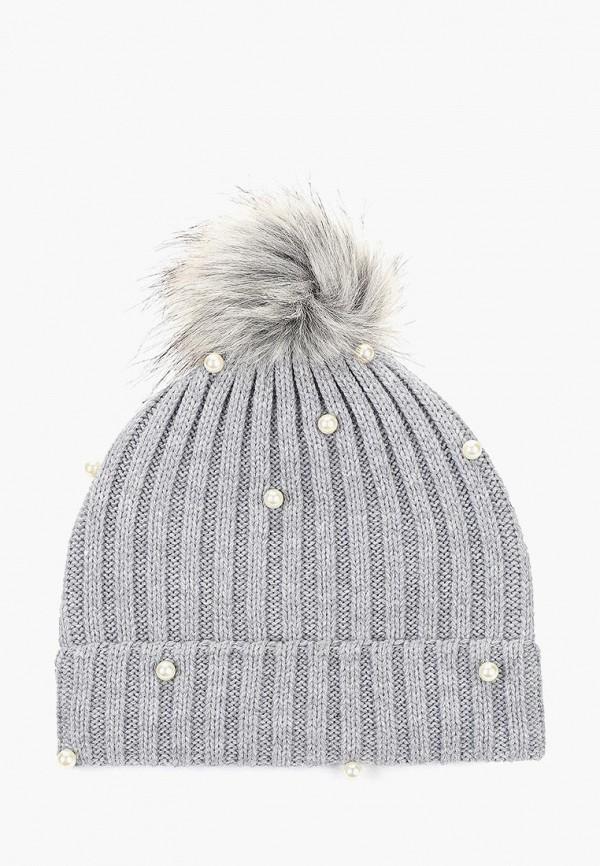 женская шапка colin's, серая