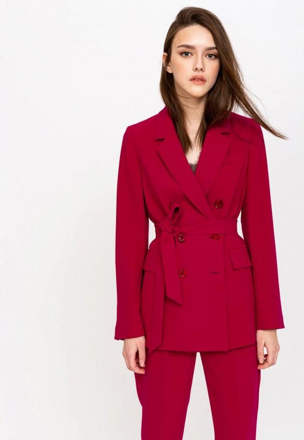 женский жакет lime, бордовый