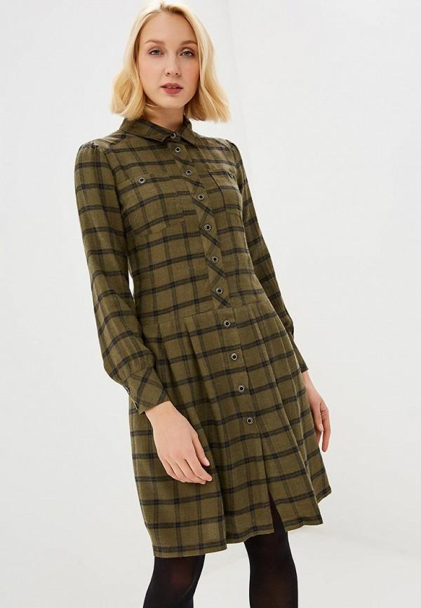 женское платье gregory, зеленое