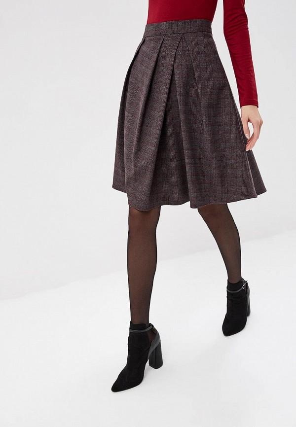 женская юбка ksenia knyazeva, коричневая