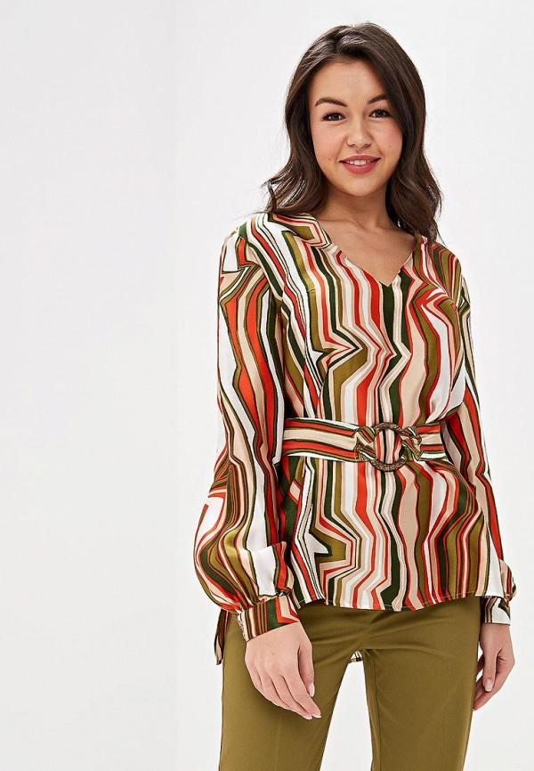 женская блузка ksenia knyazeva, разноцветная