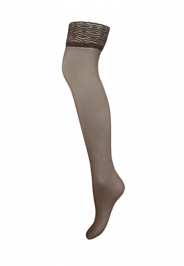 женские чулки mademoiselle, коричневые