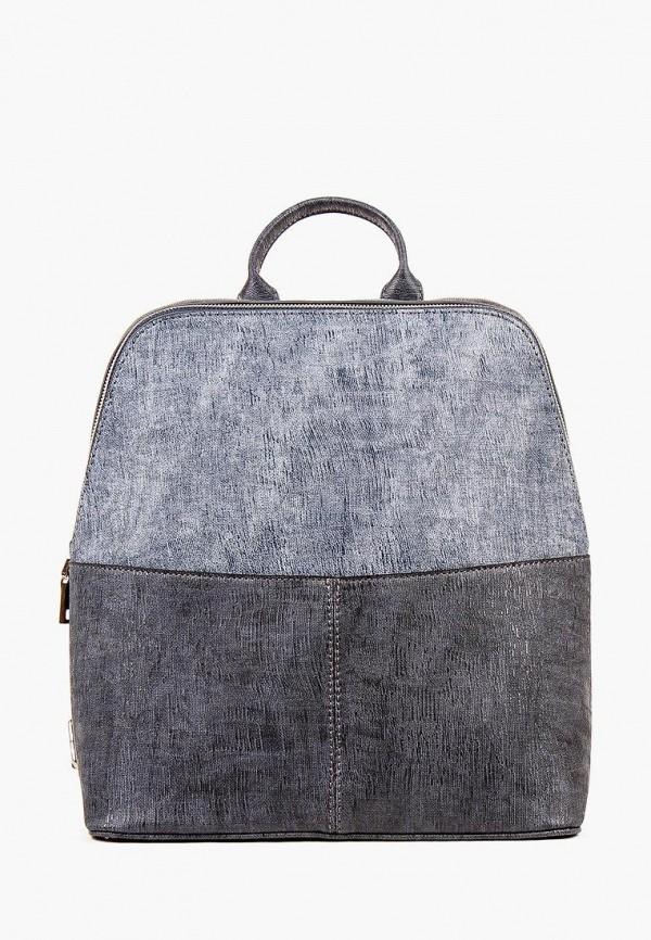 женский рюкзак медведково, синий