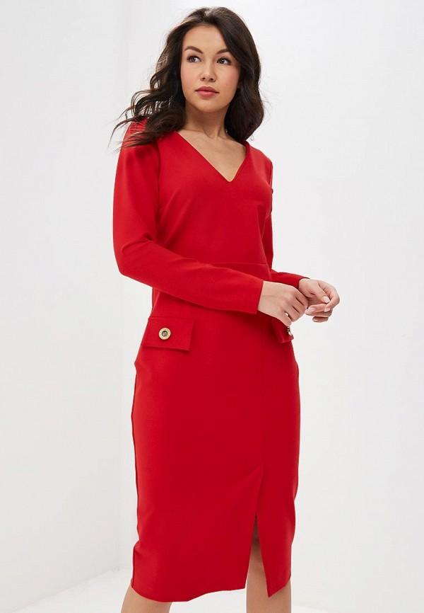 женское платье bezko, красное