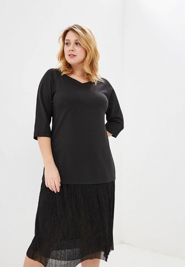 женское платье миди balsako, черное