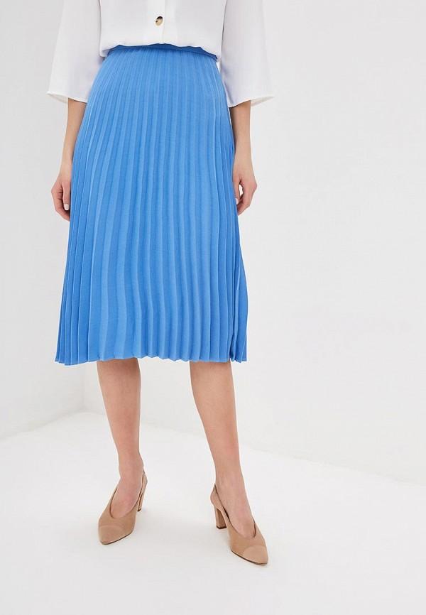 женская юбка zarina, голубая