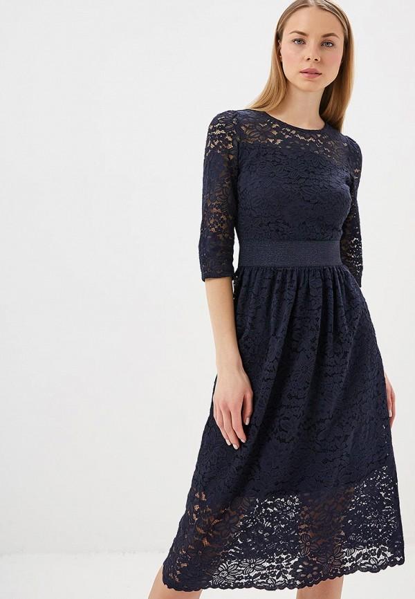 женское вечерние платье zarina, синее