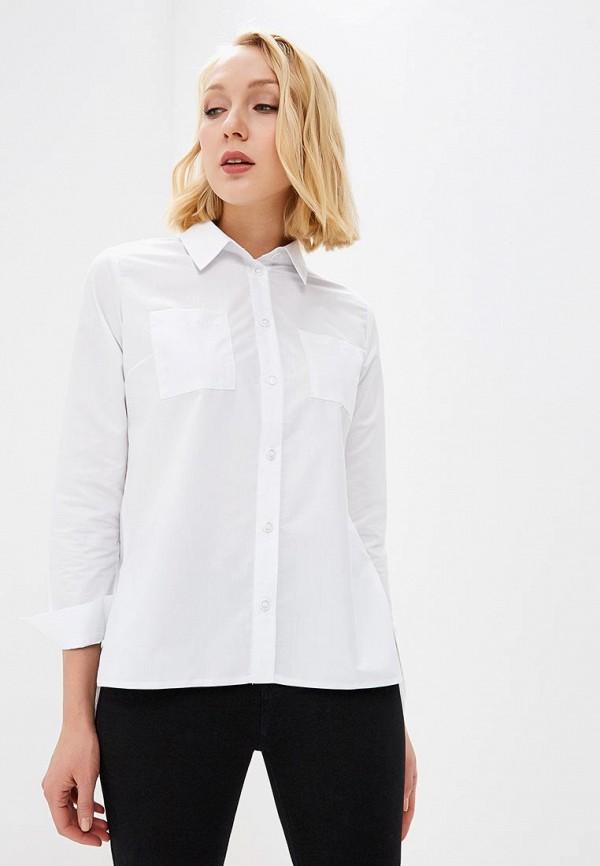 женская рубашка с длинным рукавом fashion.love.story, белая