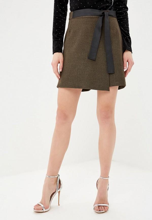 женская юбка fashion.love.story, коричневая