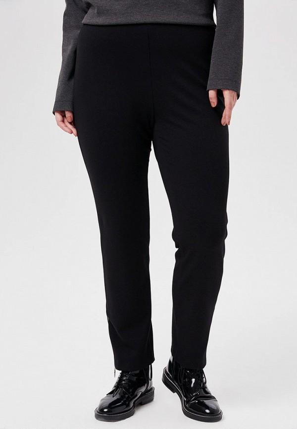 женские зауженные брюки w&b, черные