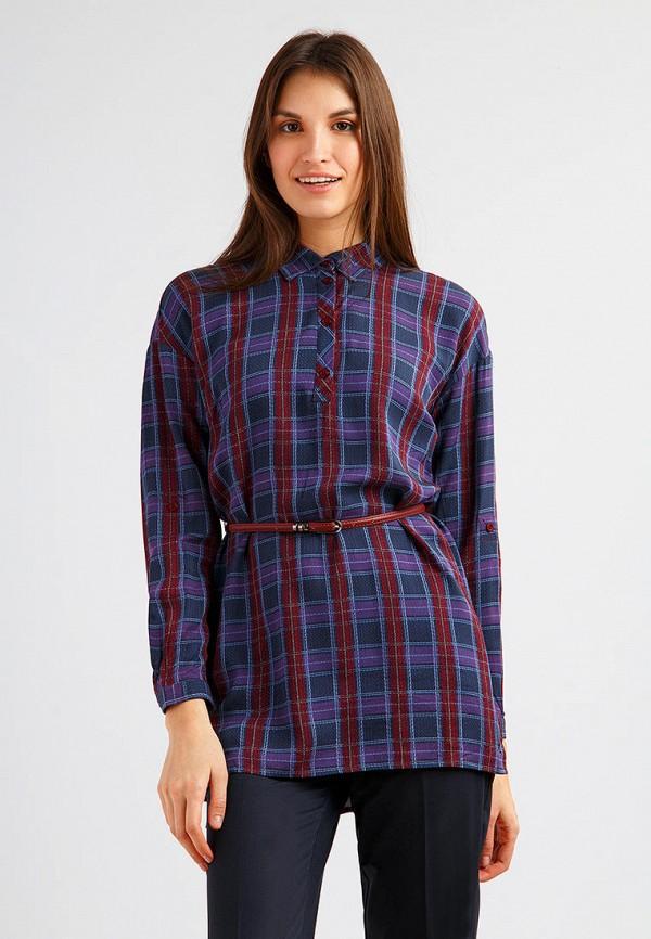 женская блузка finn flare, разноцветная