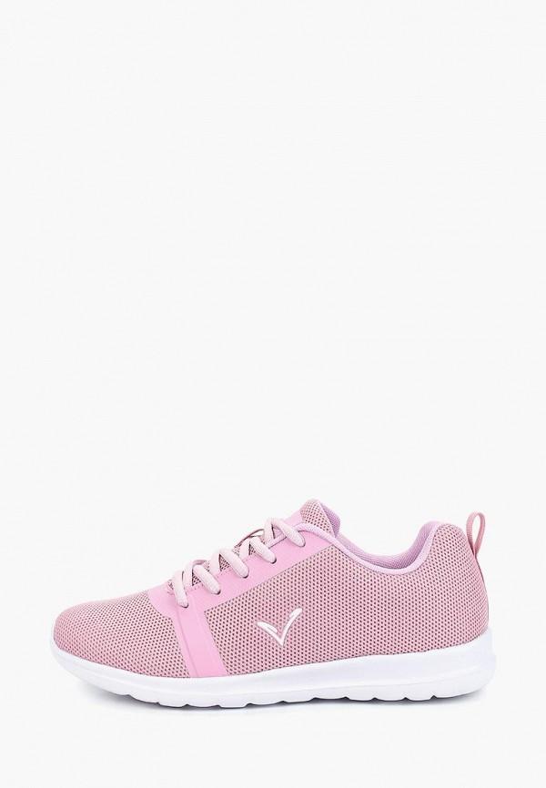 женские кроссовки timejump, розовые