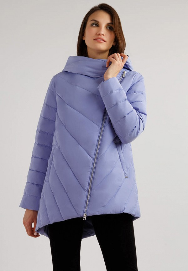 женская куртка finn flare, фиолетовая