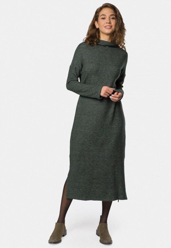женское повседневные платье mr520, зеленое