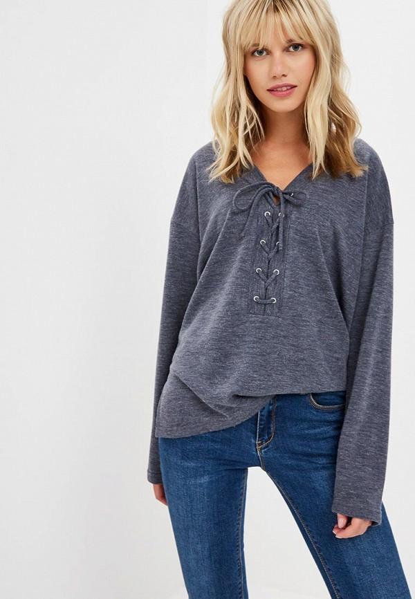 женский пуловер teratai, синий