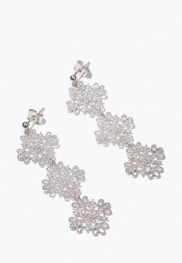 Купить Серьги Exclaim, mp002xw1i5wl, серебряный, Весна-лето 2019