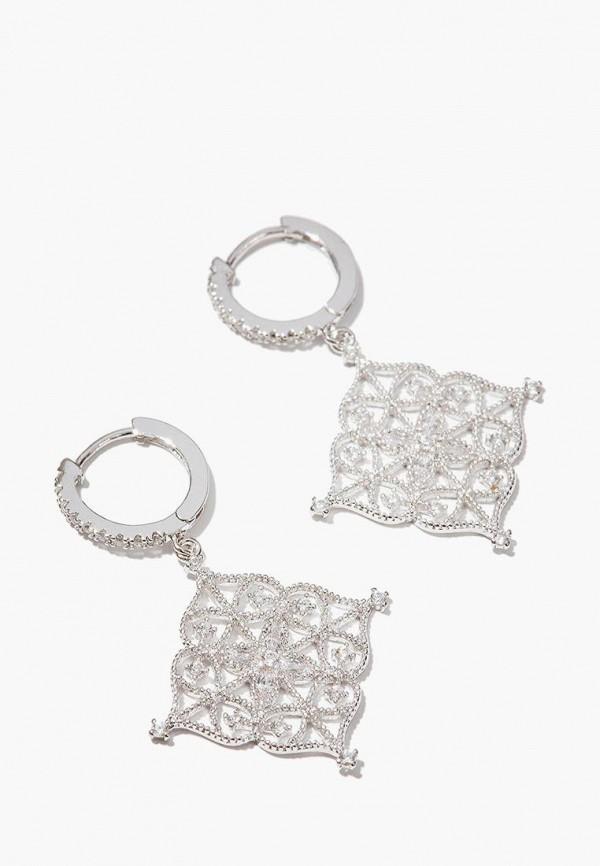 Купить Серьги Exclaim, mp002xw1i5wm, серебряный, Весна-лето 2019